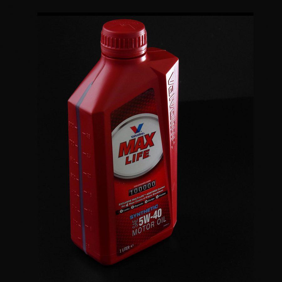 bote de aceite sintético