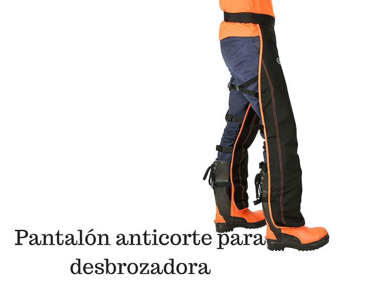 Pantalón anticorte para desbrozadora