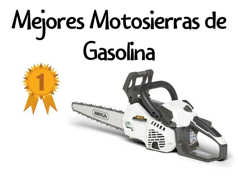 motosierra gasolina