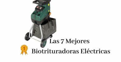 trituradora de ramas electrica