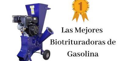 trituradora ramas gasolina