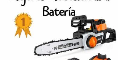 motosierra bateria